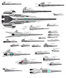The Museum Outlet grafici di–Star Destroyer–A3poster Print