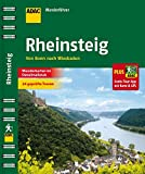 ADAC Wanderführer Rheinsteig plus Gratis Tour App: von Bonn nach Wiesbaden