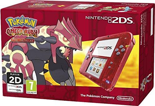 Nintendo 2204246 - NINTENDO 2DS RED POKEMON OMEGA RUBY