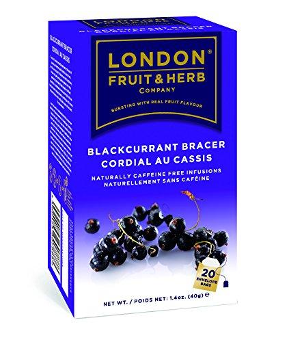 London Fruit & Herb - Blackcurrant Bracer Tea - 20 Bag(S)