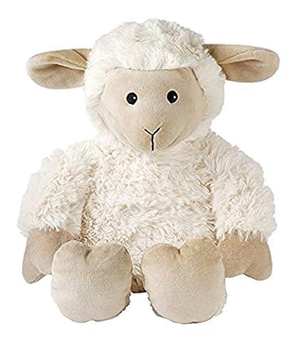 Aroma Home - Peluche Bouillotte micro onde - coussin amovible - Grand Modele - Mouton
