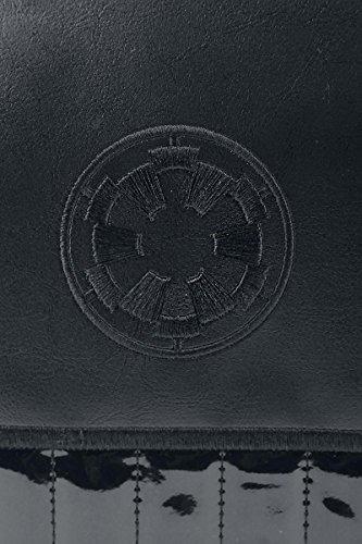 Star Wars - Borsa simbolo logo Impero Galattico Messenger Bag 39 x 32 x 9,5 cm nero multicolore