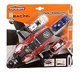 Dickie Toys Majorette - Set con lanzador Majorette y 3 coches, color rojo ( 20850300)