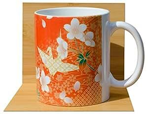 Grue Origami Tasse à thé japonais