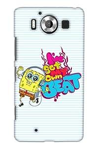 PrintHaat Designer Back Case Cover for Microsoft Lumia 950 :: Nokia Lumia 950