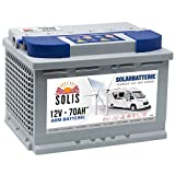 AGM Solarbatterie 70AH Boots Wohnmobil Solar Versorgungs Batterie