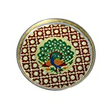 Handicrafts Paradise Puja thali in Stain...
