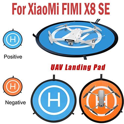 Sansee Drone Landing Pad, Universelles wasserdichtes 75 cm / 30 '' Tragbares faltbares Landing Pad für Drones Hubschrauber, für DJI Mavic Pro Phantom 2/3/4 Pro, für Xiaomi FIMI X8 SE Drone