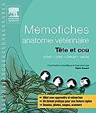 Mémofiches anatomie vétérinaire - Tête et cou