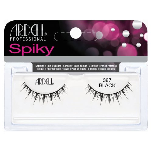 (6 Pack) ARDELL Professional Lashes Spiky Collection - Black 387