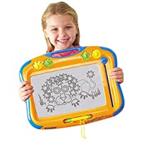 TOMY T6555 Megasketcher High Resolution Magnetic Drawing Board for Kids - Arts and Crafts Doodle and Scribble Board - Suitable from 3 years