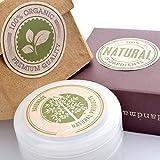 Wakehurst, etichette adesive per prodotti regalo naturali e biologici, per contenitori di cosmetici, per prodotti fatti a mano, con scritta in inglese, 5 fogli, 30 etichette