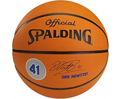 Spalding Ball Spieler Dirk Nowitzki 83-025Z, Orange, Größe 7