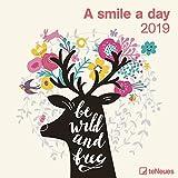 2019 A Smile a Day Calendar - 30 x 30 cm...