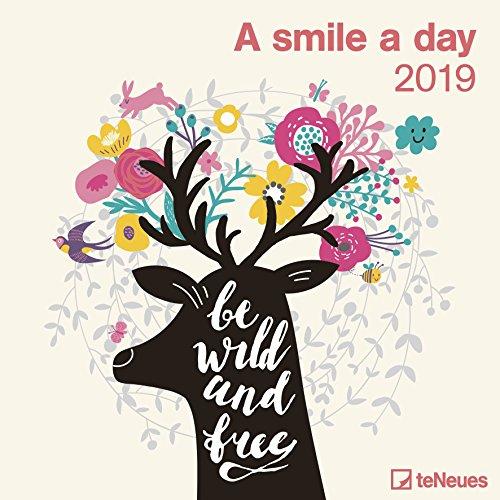2019 A Smile a Day Calendar - 30 x 30 cm