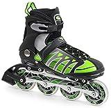 SMJ sport Inline Skates MZS101G Black/Green