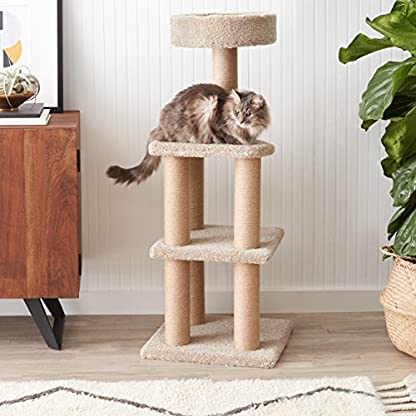 Amazon Basics Cat Tree with Scratching Posts - Large 2
