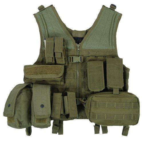 Condor Einsatzweste Modular Geräteweste mit 8 Taschen
