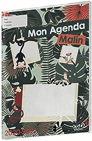 Quo Vadis Mon agenda malin SEMAINIER CM1-CM2 Agenda scolaire Semainier 21x29,7cm Jungle Année 2020-2021