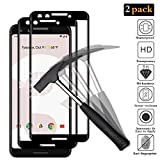 ANEWSIR Google Pixel 3 Screen Protector,【2 Pack】 3D Full Coverage 9H Hardness Tempered Glass Screen Protector for Google Pixel 3 [9H Hardness] [Easy Bubble-Free Installation] [Life Warranty]