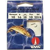 VMC - Hameçon spécial truite forgé bleu par 10 (Taille 10)