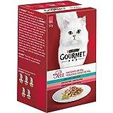 Purina Gourmet Mon Petit comida para gatos con Atún, Salmón y Trucha 6 x 50 g