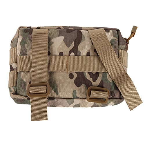 Sweetds Taktische Molle Pouch Utility Holster Holder Military Gadget Taille Tasche 600D Nylon CP