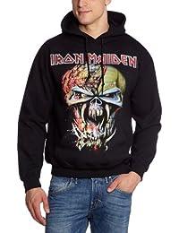 """Iron Maiden """"Final Frontier Big Head"""" Men's Hoodie: Small"""