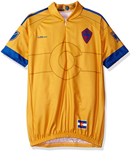 VOmax MLS Damen Sekundär Short Sleeve Jersey, Damen, gelb