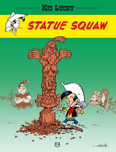 Kid Lucky 3 - Statue Squaw