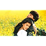 """Love st. - DDLJ Dilwale Dulhania Le Jayenge SRK Kajol SuperHit BlockBuster- Posters for Home and office quirky poster 12x18"""""""