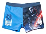 Boxer de bain enfant garçon Star wars 'Dark Vador' Bleu de 6 à 12ans