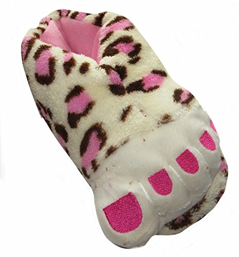 Füße des Mädchens Monster Plüsch Neuheit Hausschuhe Größe 27-34 erhältlich Mehrfarbig