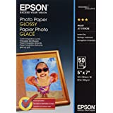 Epson Photo Paper Glossy - Papel fotográfico brillante, 13 x 18 cm, 50 hojas
