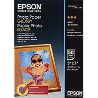 Epson Carta Fotografica Lucida, 13x18cm, 50 Fogli, Bianco