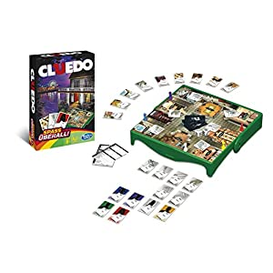 Hasbro Gaming – Cluedo, Travel Game German version
