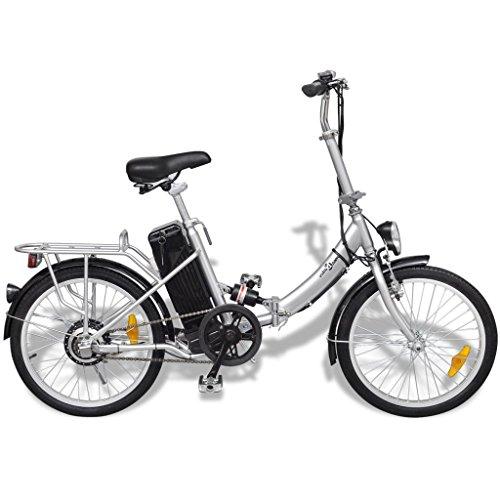 Anself Vélo électrique pliant en alliage...