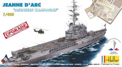 Heller - - - 81030 - Maquette Militaire - Bateau - Jeanne D'arc Dernière Campagne - Echelle 1/400 dab396