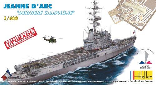 Preisvergleich Produktbild Heller–81030–Modellbau Militärische–Boot–Jeanne d Arc letzte Kampagne–Echelle 1/400