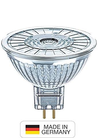 Neolux Mr16 LED Reflector Lamp, Glass, Warm White, GU5.3, 4.6 W