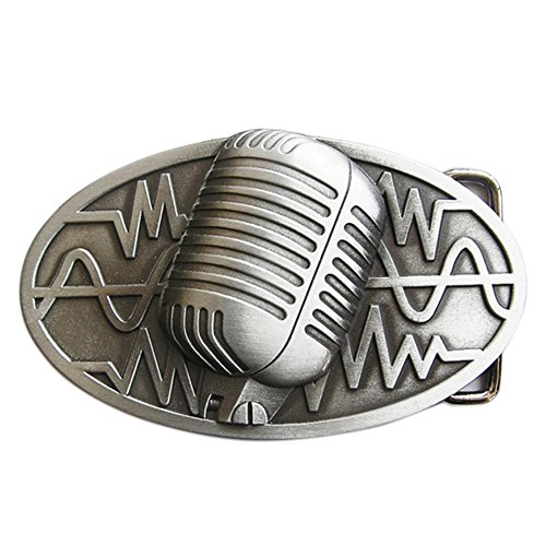 Urban Backwoods Microphone I Hebillas de cinturón Belt Buckle