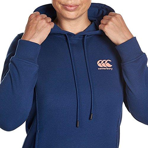 Logo CCC de Canterbury femmes Princesse à capuche pour homme–Bleu marine, Taille bleu