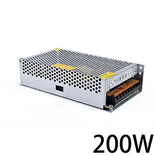 Himanjie® 200W Trafo zu DC 12V 16.6A LED Schalter Transformator Netzteil für LED-Streifen Schaltnetzteil
