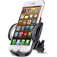 Amotus Car Phone Mount Supporto universale kit telefonico per auto Cradle per Air Vent, iPhone 7 6s 6 Plus, Samsung, HTC, Huawei, Xiaomi, Blackberry, telefoni pesanti e dispositivi GPS