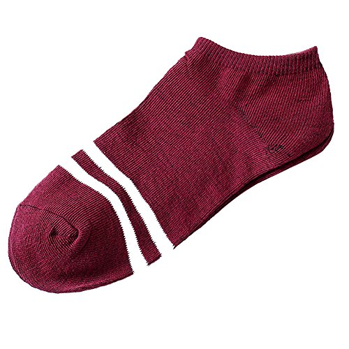 Trisee Unisex - Erwachsene Sneaker Socken Atmungsaktive Kurz Socken Bequemer Baumwolle Sportsocken Anti Rutsch Socken Motorrad socken