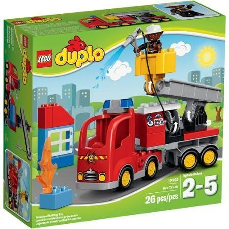 LEGO DUPLO Town Fire Truck, 10592 Fire Station for Even More Fire Rescue Adventures by LEGO