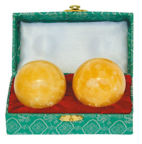 Qi Gong Kugel Orangecalcit 50mm