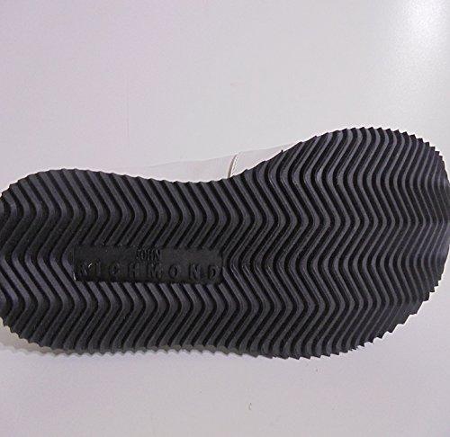 Richmond  VELOUR NERO, Chaussures de marche nordique pour femme blanc Bianco ITA - 37 DONNA blanc/noir