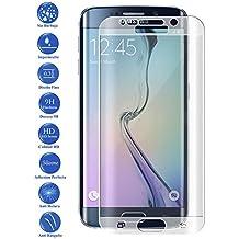 Protector de Cristal Templado Curvo 3D Samsung Galaxy S6 Edge Color Transparente