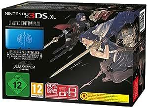 Nintendo 3DS XL - Konsole, blau + Fire Emblem Awakening (vorinstalliert)